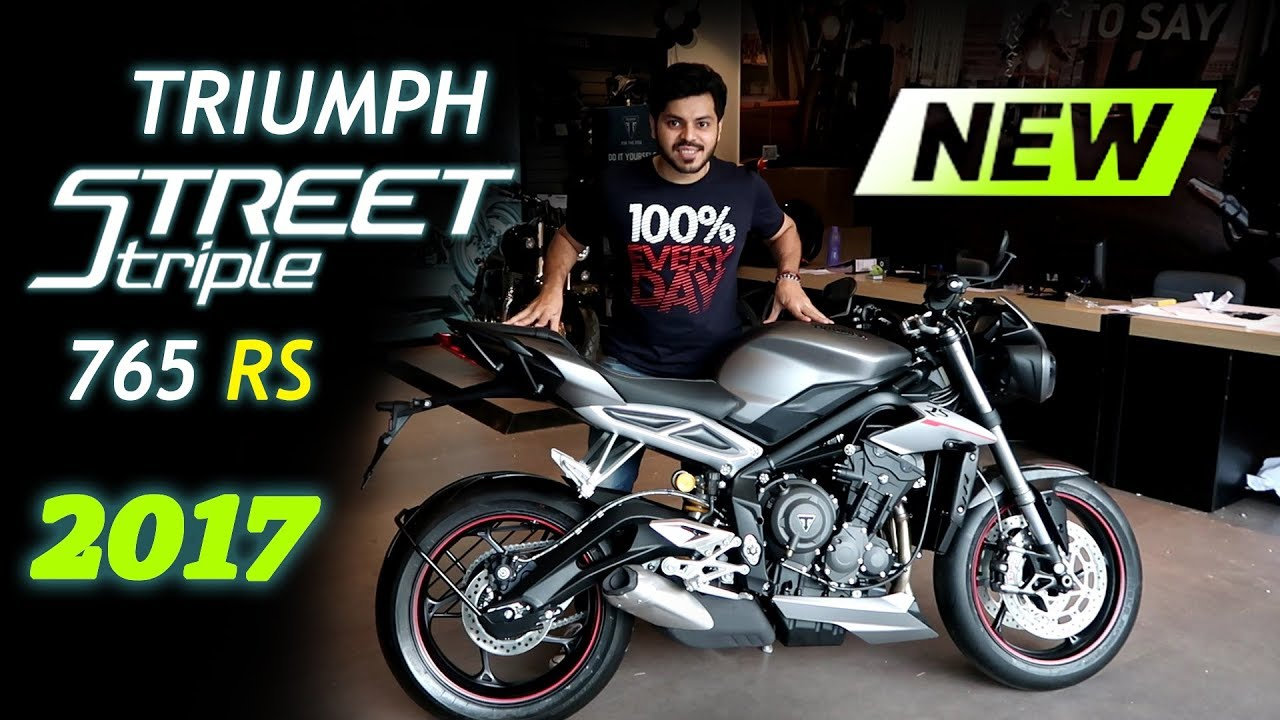 2017 Triumph Street Triple 765 Rs Launch India First Impression