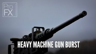 Heavy machine gun burst sound effect | ProFX (Sound, Sound Effects, Free Sound Effects)