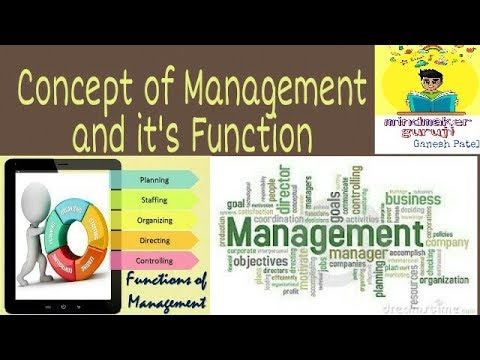 Management and its Function,Nature,6-M of Management in Hindi(Engineering Economic)Unit-4