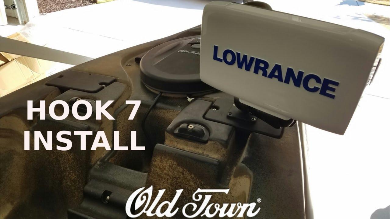 Lowrance Hook 7 Install