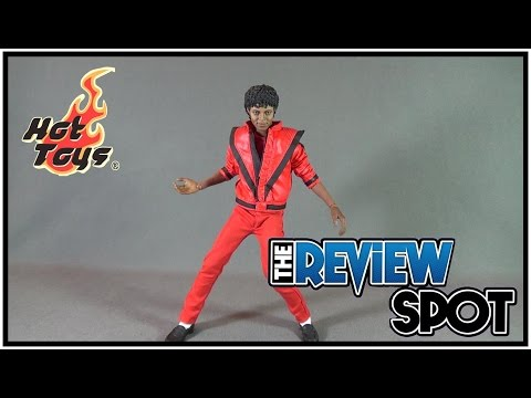 Collectible Spot - Hot Toys Michael Jackson Thriller Version Sixth Scale Figure
