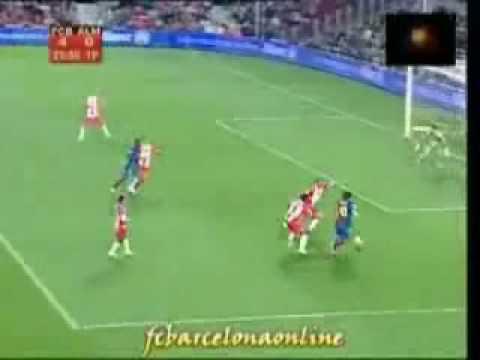 fbarcelona 5-0 Almeria,, messi & alves!!