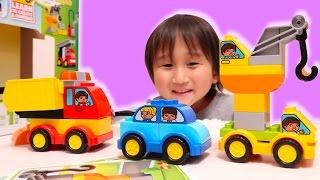 はたらくくるま 消防車やはしご車、ダンプカー、レッカー車、クレーン車...