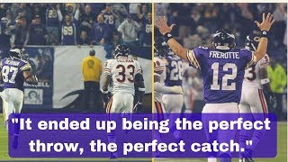 Gus Frerotte details his infamous 99-yard touchdown pass to Bernard Berrian