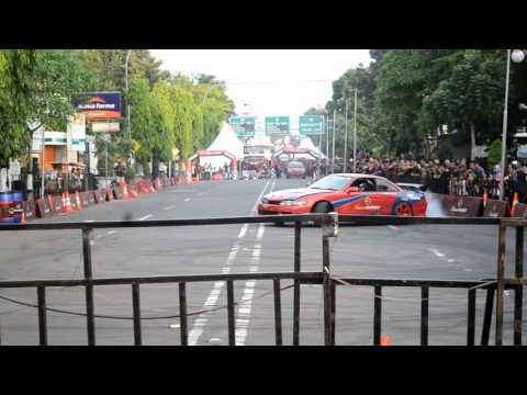 Aksi Battle Drift and Slalom Inter Sport Di Cirebon