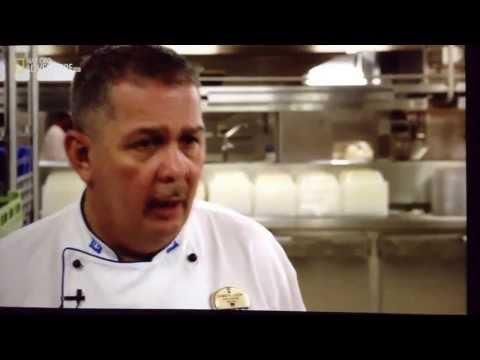 Cruise Ship Food  - Behind the Scenes