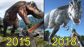 The Evolution Of Ark Survival (2015-2018)