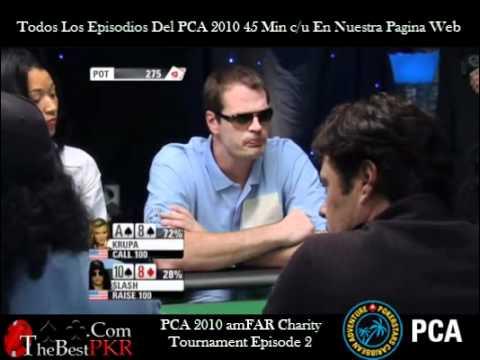 PokerStars Caribbean Adventure PCA 2010 Torneo De Caridad Episodio 1 (Full Episode)