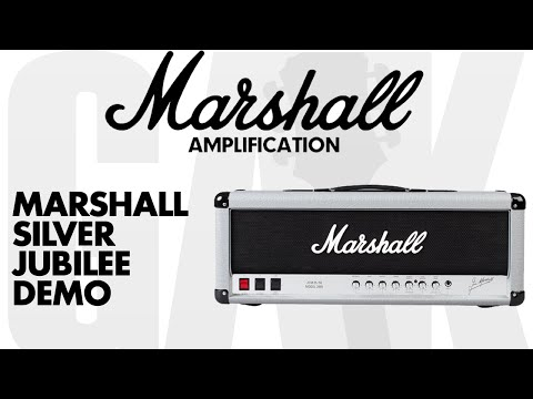 Marshall 2555X Silver Jubilee Reissue 100 Watt Head Marshall Silver Jubilee Demo Review
