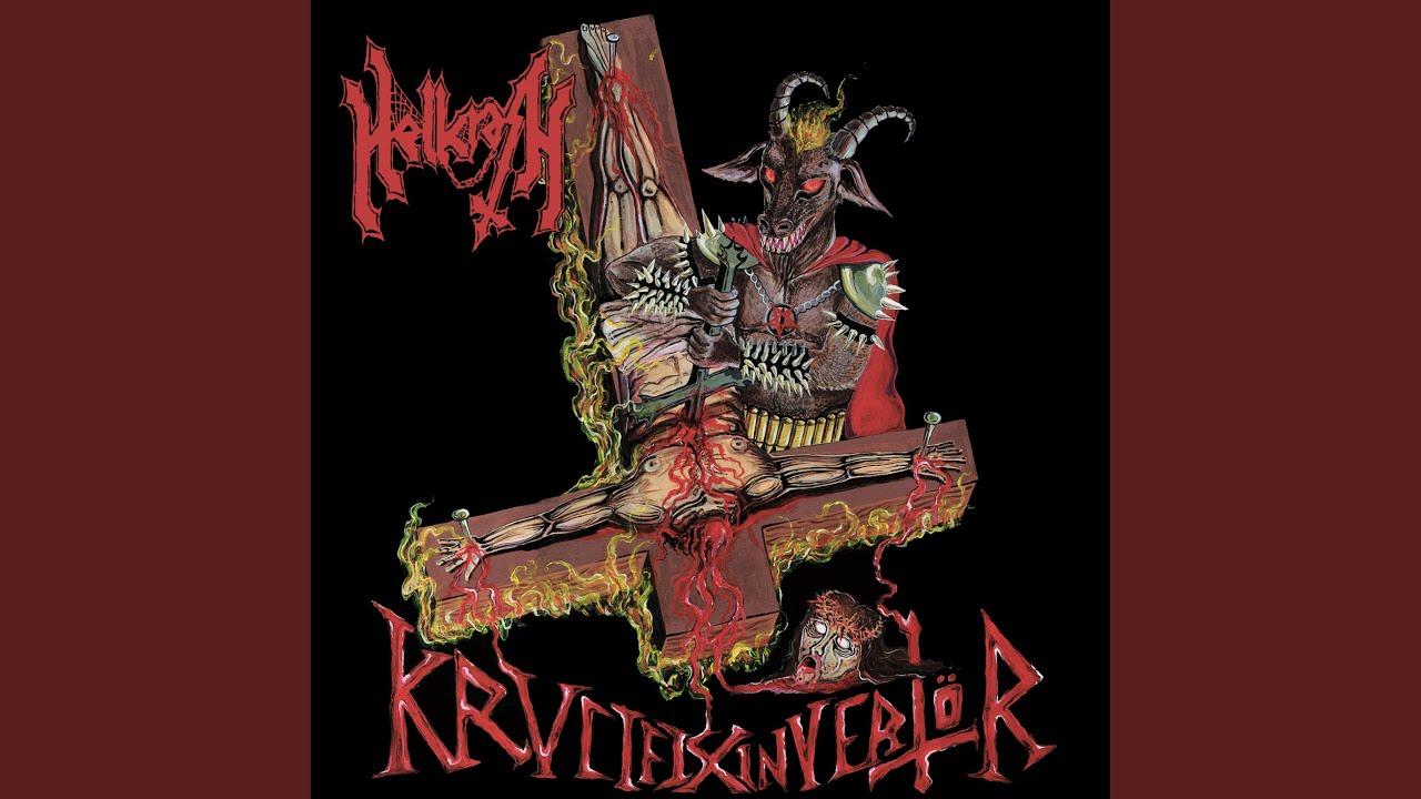 (Album Review) HELLCRASH - Krvcifix Invertor
