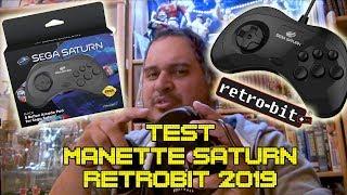 (EP73) Test Manette Saturn Retrobit 2019