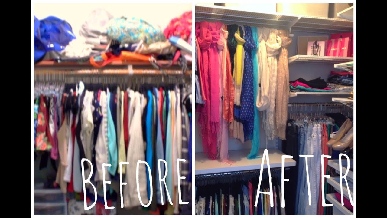 Closet Makeover And Tour