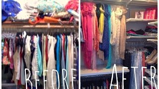 Closet Makeover And Tour!!
