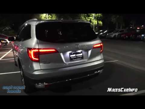At Night 2017 Honda Pilot Touring Interior And Exterior Lighting In 4k