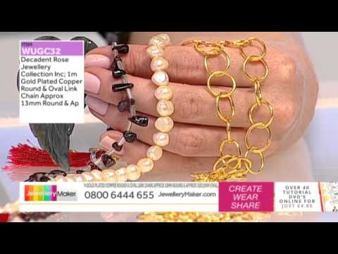 How to Make Polymer Clay Jewellery: JewelleryMaker LIVE 1/04/2015