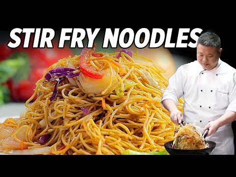 Simple Stir Fry Noodles Recipe That Are Awesome • Taste The Chinese Recipes Show