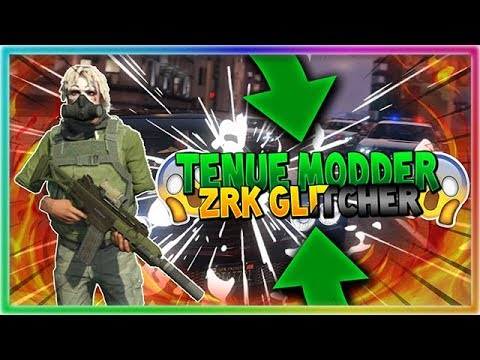 GTA ONLINE- COMMENT FAIRE LA TENUE DE ZRK GLITCHER !! | PS3 1.28