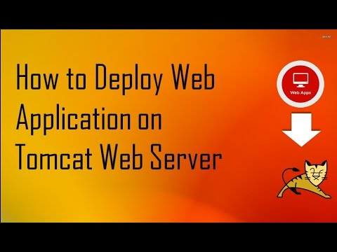 How to Deploy Web Application on Tomcat Web Server