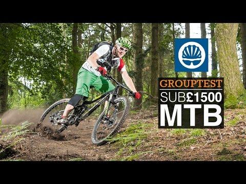 Best MTBs Under £1500