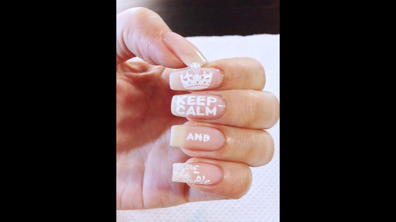 BeautyAndTheBlog.co : Kukuku - Keep Calm Nail Art Happy Birthday ...