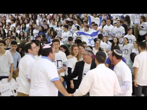 South Florida Jewish High School Israel Solidarity Assembly