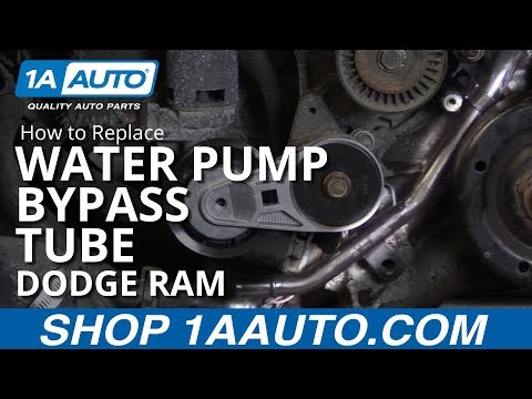 2007 dodge ram 1500 water pump replacement 5 7l doovi. Black Bedroom Furniture Sets. Home Design Ideas