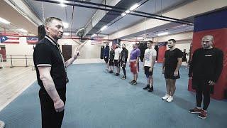 Боксерская тренировка от МС СССР / Разминка и Школа Бокса