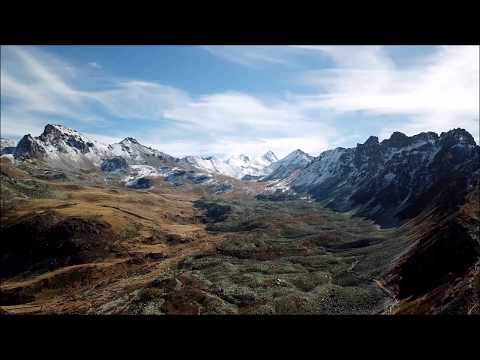 St-Luc from a drone - Swiss Alps - 4K UHD