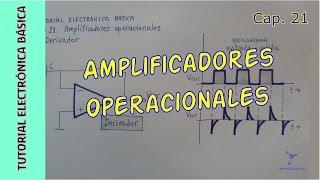 Amplificadores operacionales. Cap  21. Tutorial Electrónica Básica