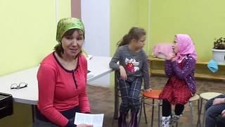 """Урок """"Основы хорового и церковного пения"""" для детей мл. группы"""