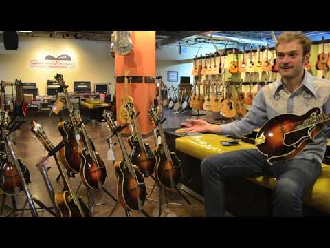 Chris Thile Plays Two 1927 Gibson Fern Mandolins at Carter Vintage Guitars