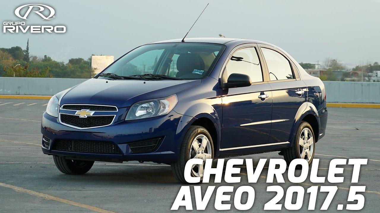Chevrolet Aveo 2017.5 - Monterrey, México - Grupo Rivero ...