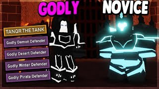 ALL TITLES AND HELPING MY DAD GET HIS FIRST IN WAVE DEFENCE | Dungeon Quest (ROBLOX)