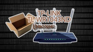 [Unboxing] TP-LINK TL-WR1043ND V3