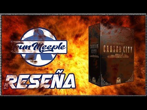 Carson City Big Box Juego de Mesa Preparación cómo se juega y Reseña Español