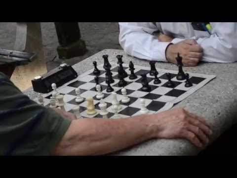 Old People Playing Chess.