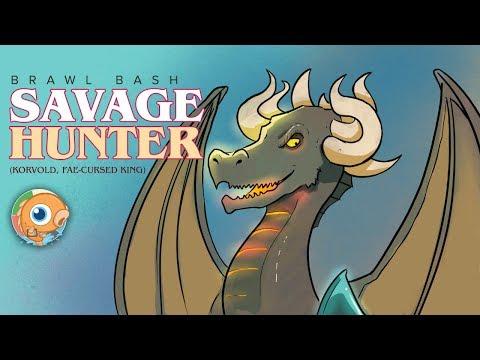 Brawl Bash: Savage Hunter (Korvold, Fae-Cursed King, Magic Arena)