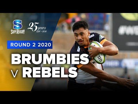 Super Rugby 2020   Brumbies v Rebels - Rd 2 Highlights