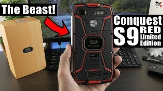 Conquest S9 RED Limited Edition REVIEW & Unboxing