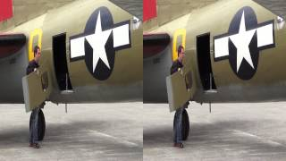 Flying in a Boeing B17 Flying Fortress (3D)