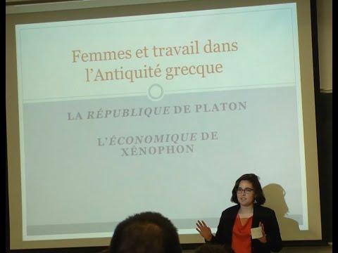 Femmes et travail chez les philosophes de l'Antiquité
