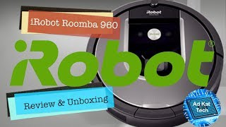 iRobot Roomba 960   Review   Unboxing   Demonstration   Robot Vacuum