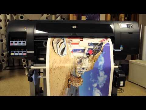 HP Designjet Z6200 wide format printer for sale
