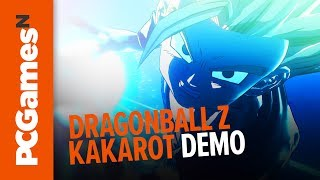 Dragon Ball Z Kakarot gameplay demo | Gohan vs Cell in new open world Dragon Ball Z game