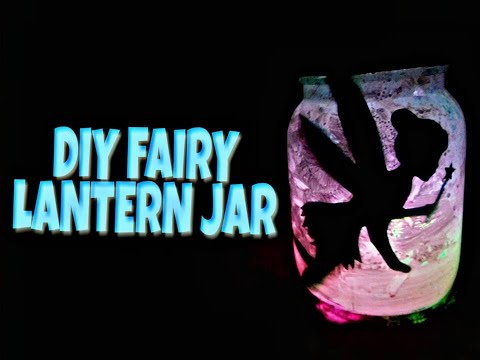 DIY FAIRY LANTERN JAR (Without using Tissue paper) | Faulty Chashmish