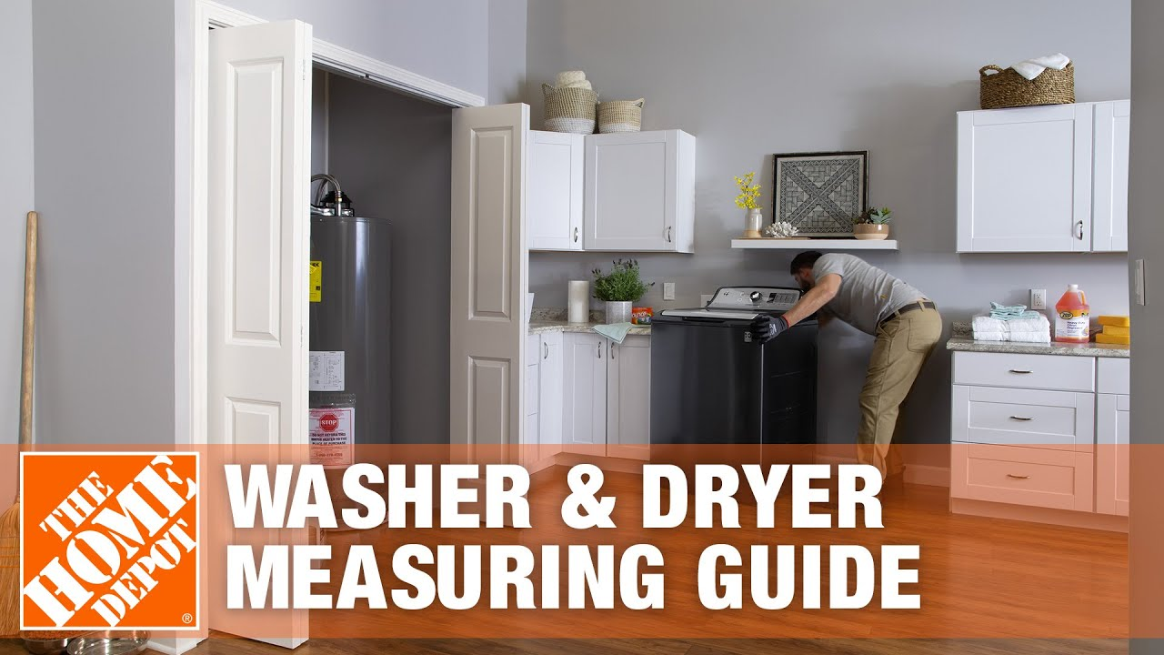 New Washer And Dryer How To Measure For A New Washer Dryer