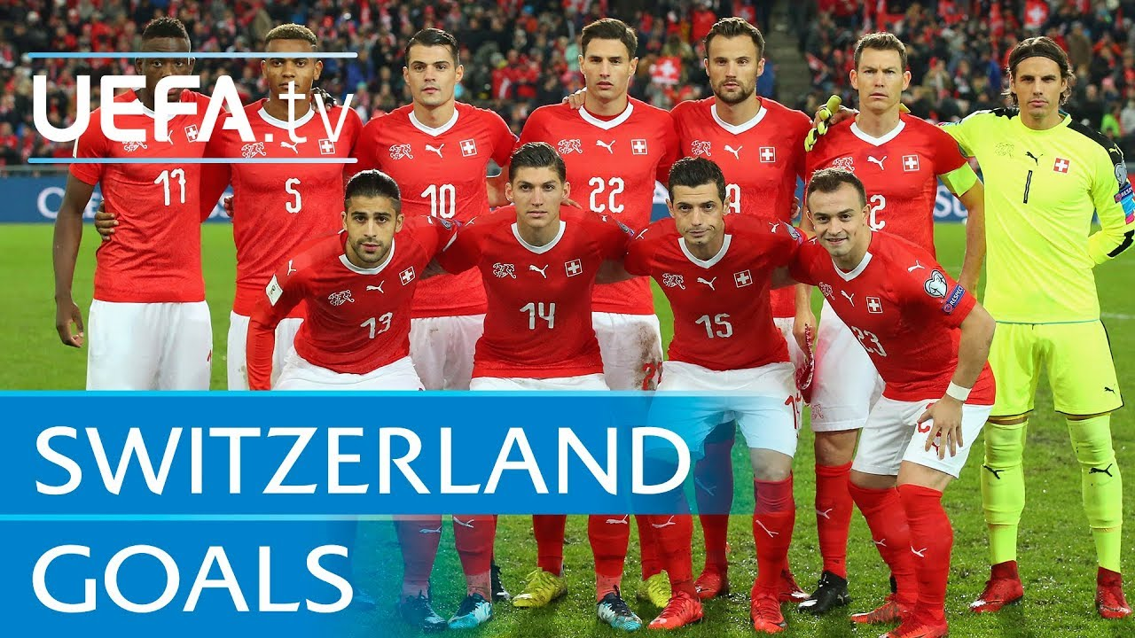 Resultado de imagem para Switzerland top five European Qualifiers goals