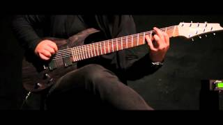 ninja syndrom   ep ii preview   ibanez rgif8 fanned frets axe fx