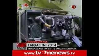tni turunkan tank tertua bt 76 di latihan gabungan