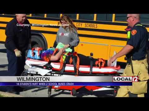 Students hurt during school bus accident in Wilmington
